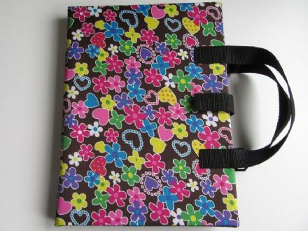 A4 Communication Book - Rigid Covers - Candy Hearts